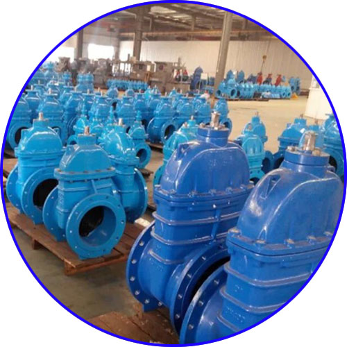 Manual Soft Seated Gate Valve