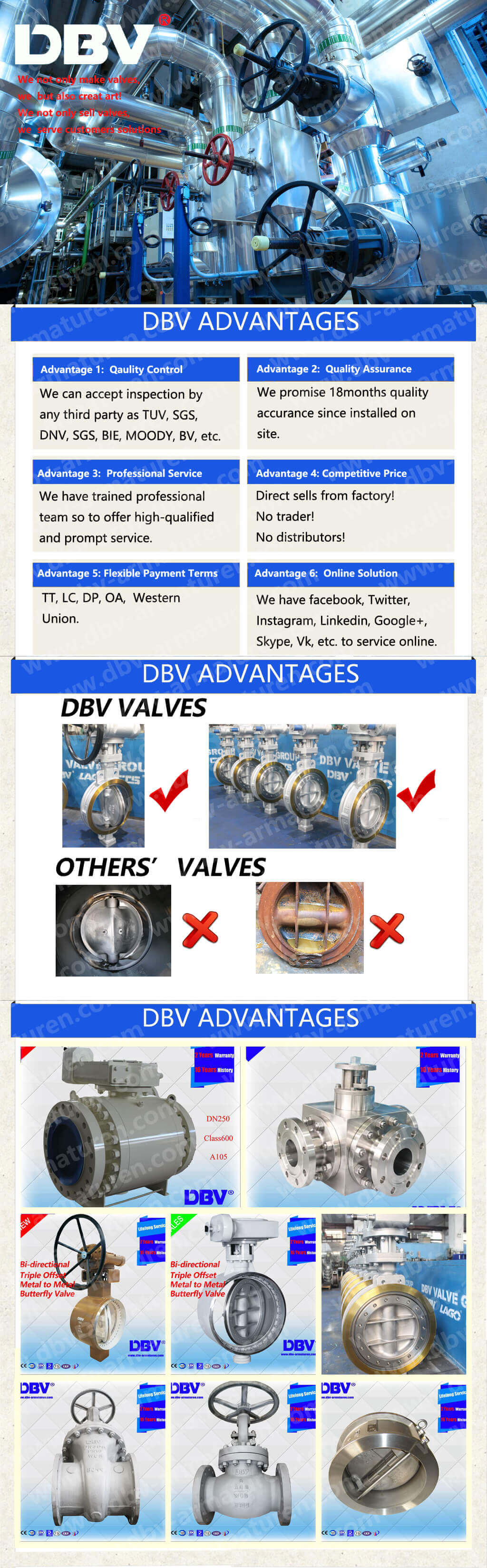 5 DBV ADVANTAGES