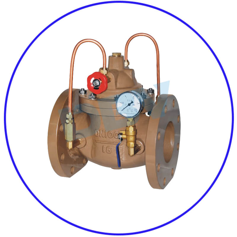 Water Control Valves with Solenoid Valve