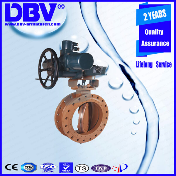 D1 12 1 Electric Metal to Metal Triple Eccentric Butterfly Valve (1)