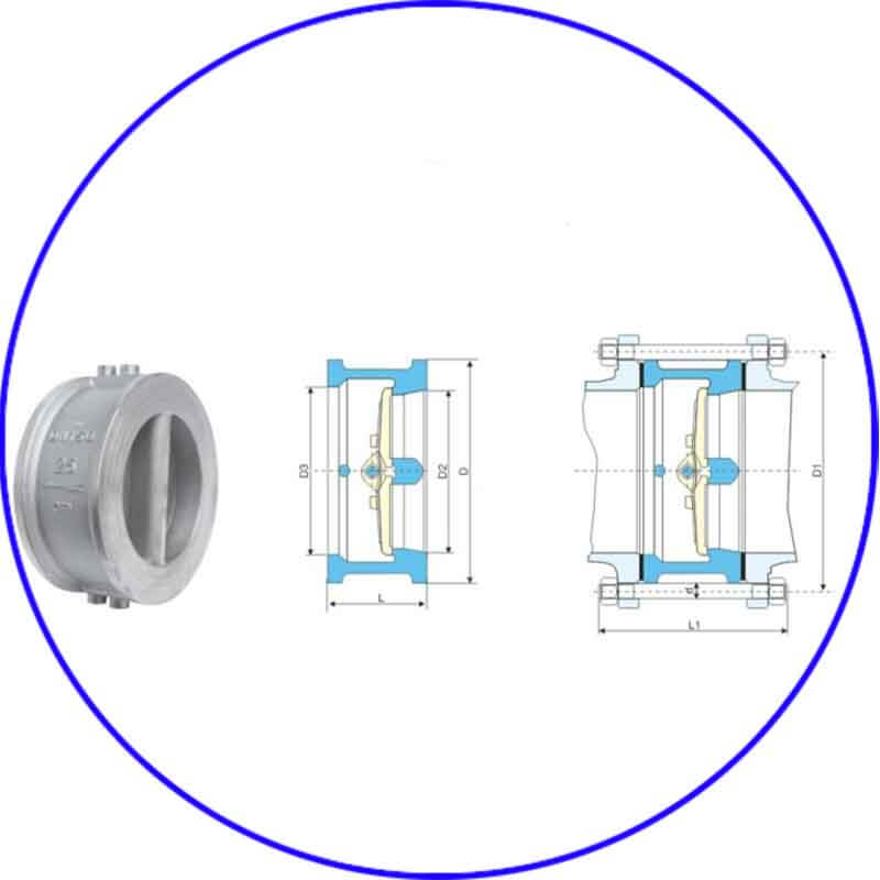 Dual-Plate Check Valve