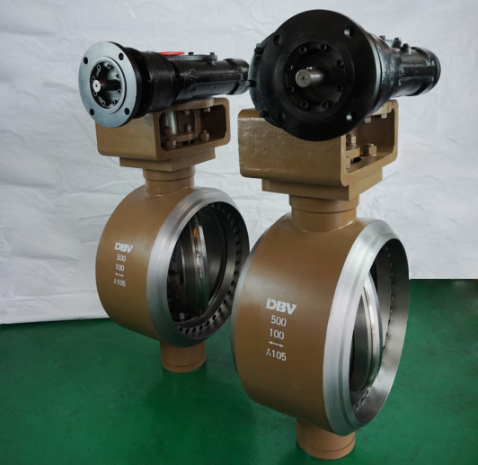 Triple Eccentric Bidirectional Butterfly Valve (2)
