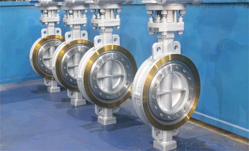 Metal Sealing Triple Eccentric Butterfly Valve
