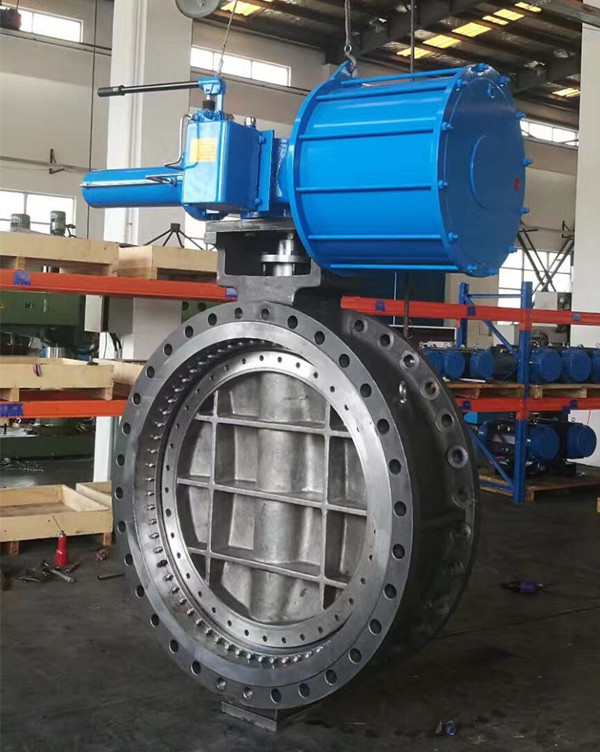 ALL Metal Seat Bi-drectional Butterfly Valve