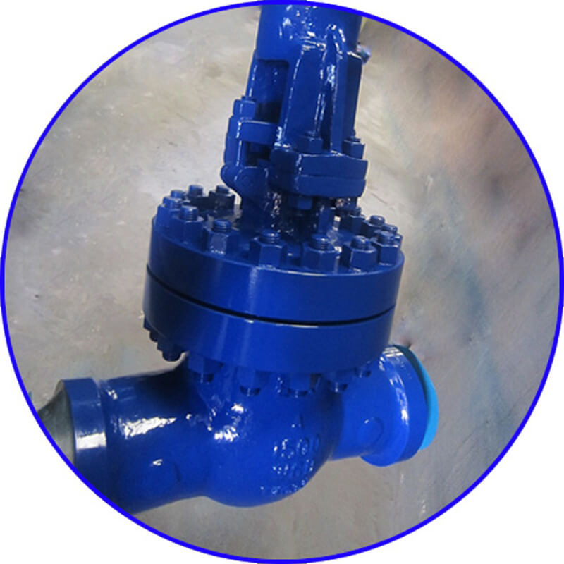 WCB Welded Gate Valve-1