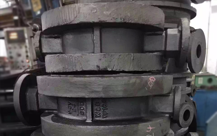 DBV Butterfly Valve Castings