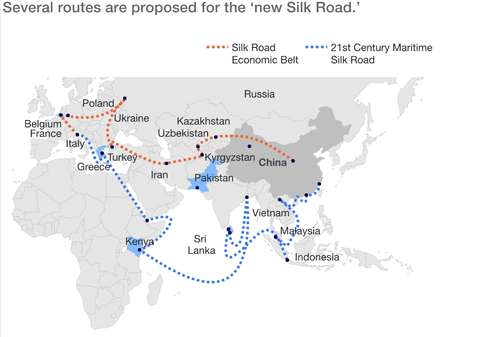 DBV group ambition on One Belt and One Road