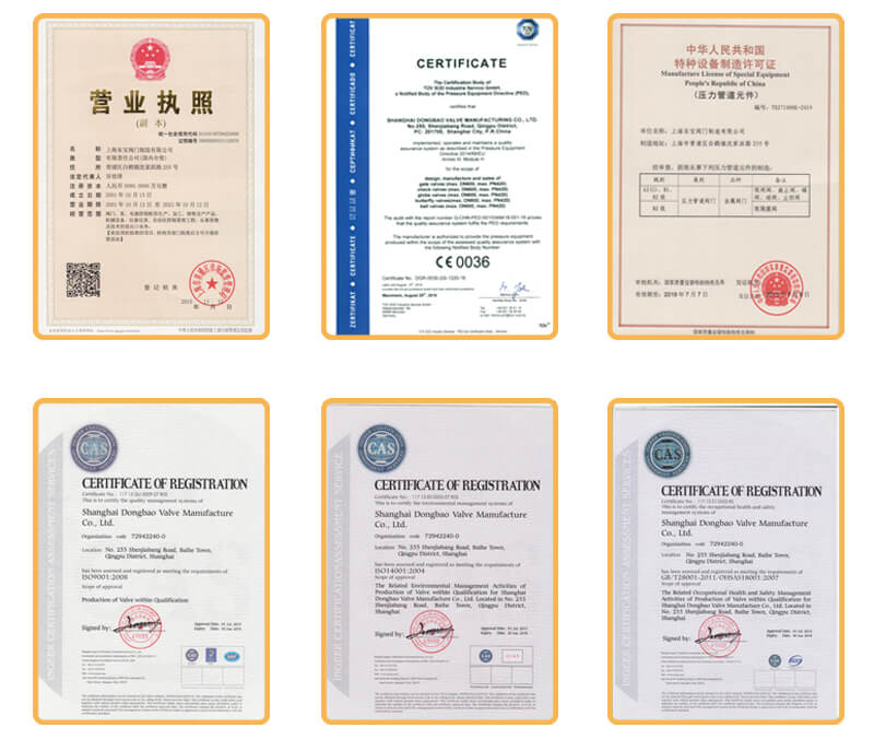 CE and ISO Certification