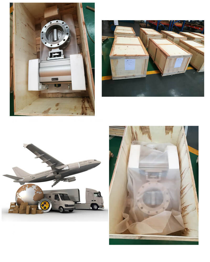 Butterfly Valve Package and Delivery