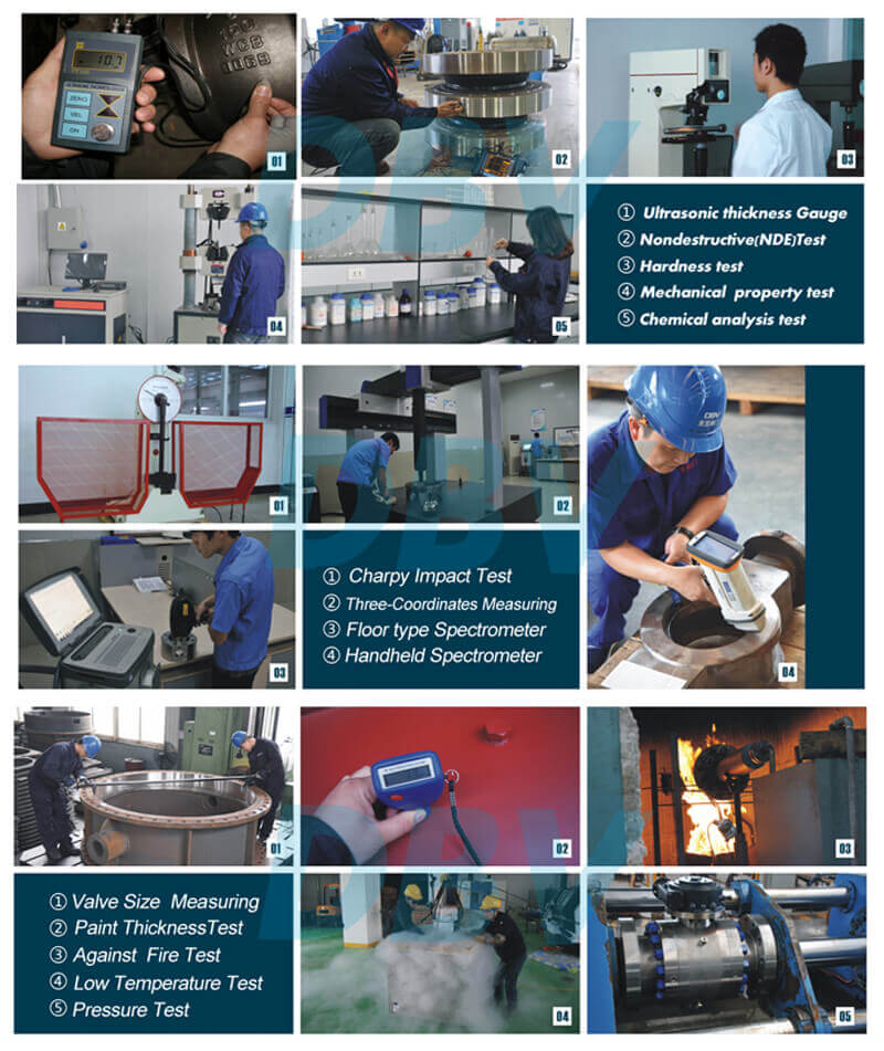 Butterfly Valve Quality Control