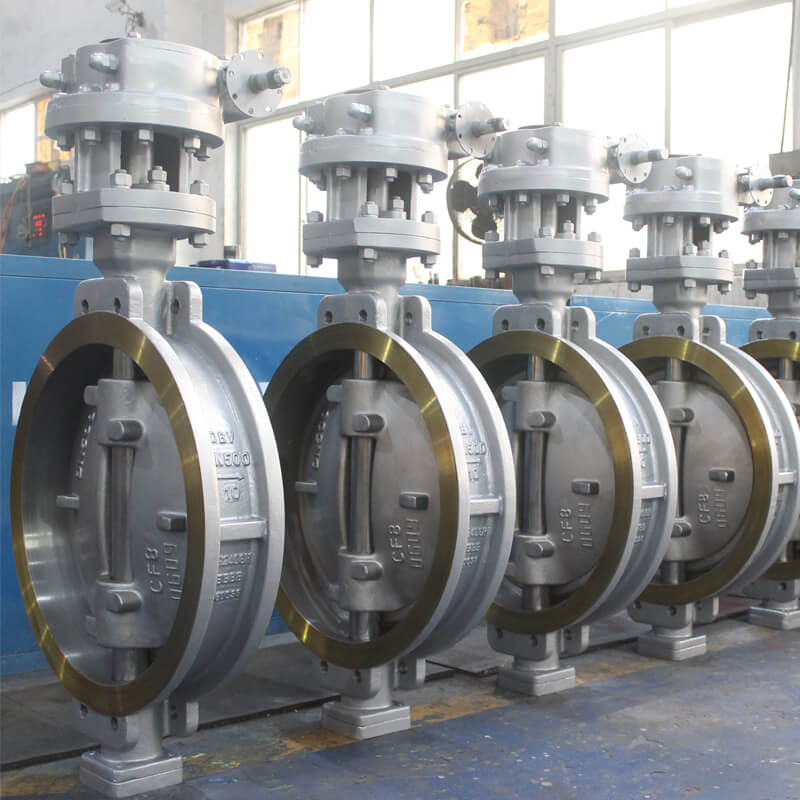 Triple Eccentric Wafer Butterfly Valve-1