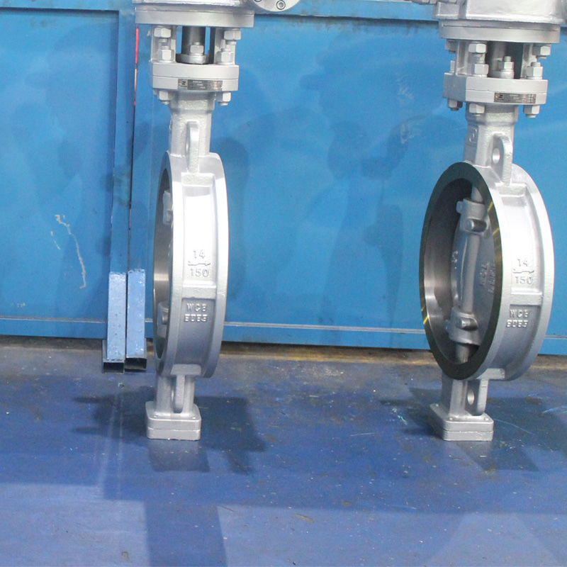 flange wafer type butterfly valve