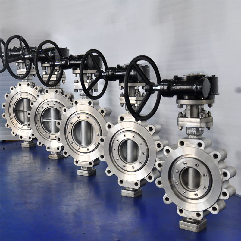 Lug CF3 Triple Offset Butterfly Valves