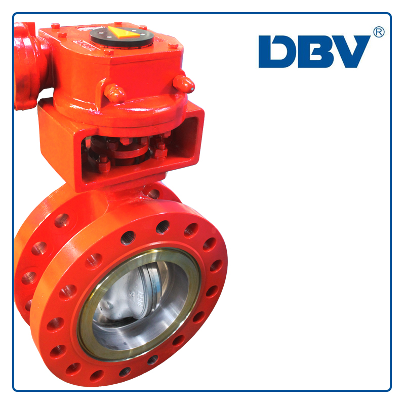 Cryogenic butterfly valve