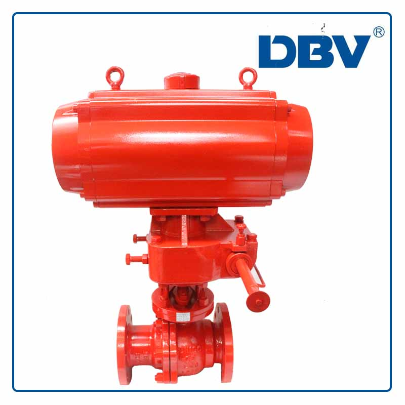 Pneumatic Cryogenic Ball Valve