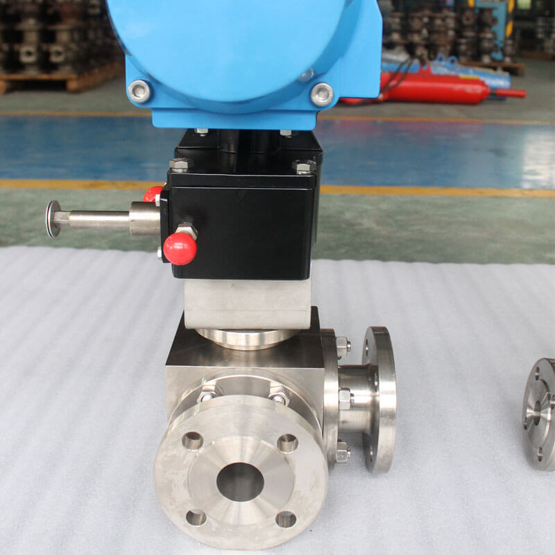 stainless steel ball valve factory