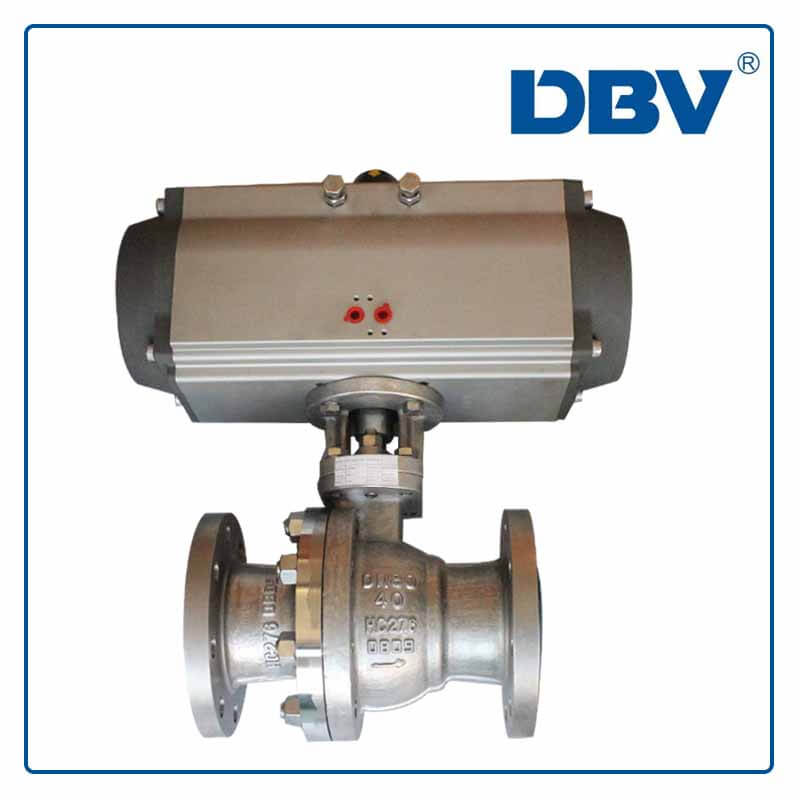 Pneumatic Floating Ball Valve-HC276