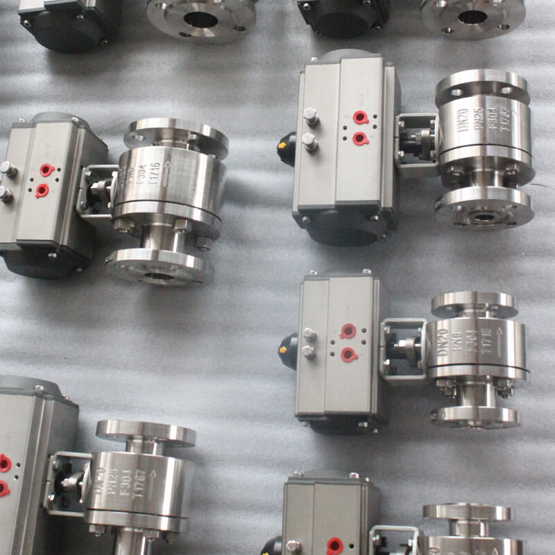 ball valve pneumatic operated