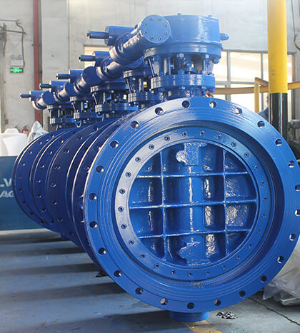 Triple offset Butterfly Valve (1)