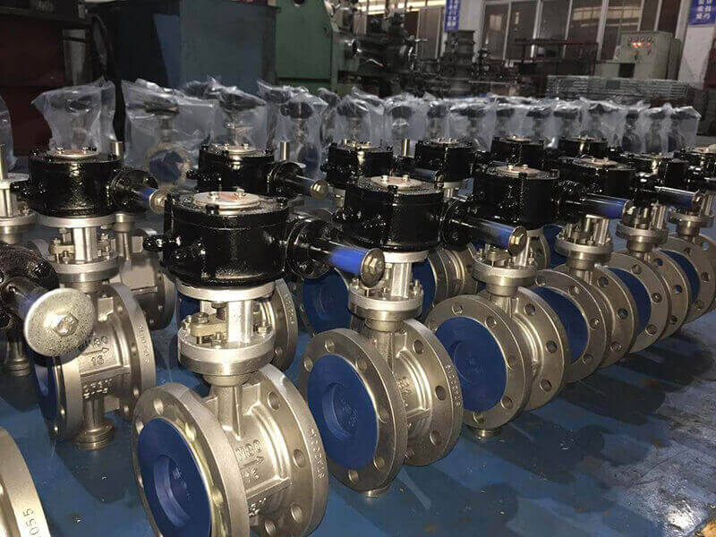 metal to metal butterfly valve