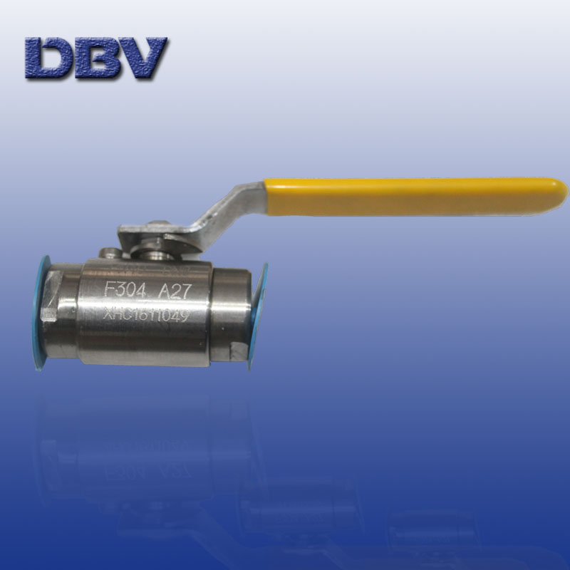 Small Size Ball Valve/Screw end ball valve /Clamped  ends ball valve