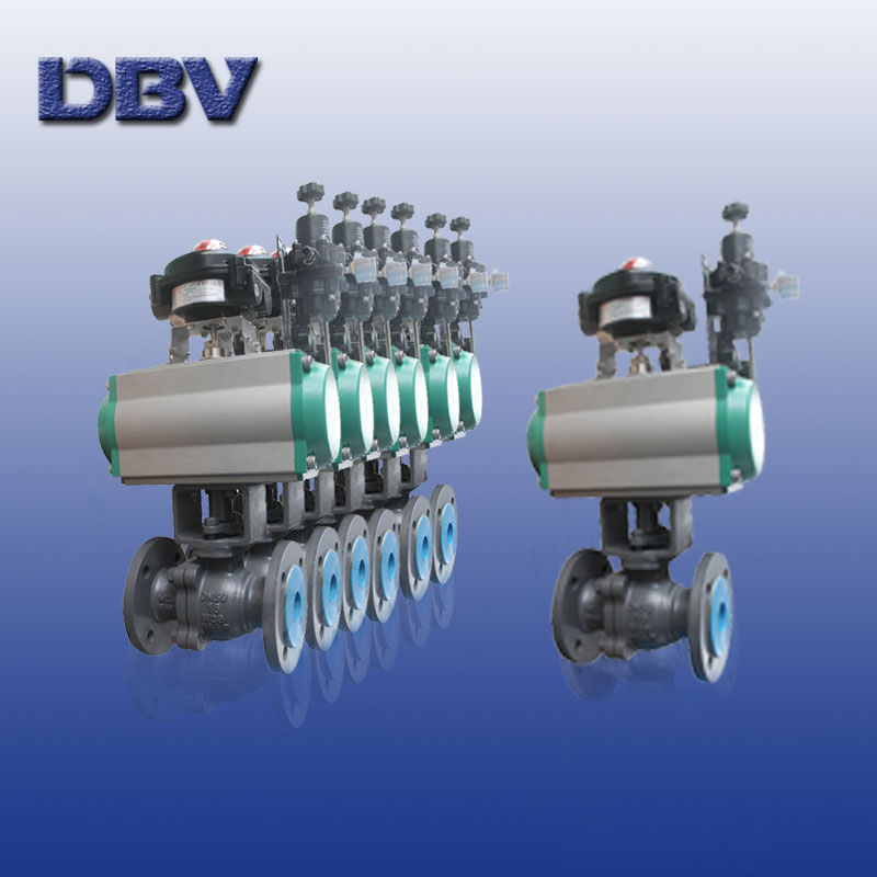 Pneumatic Stainless Steel Floating Ball Valve