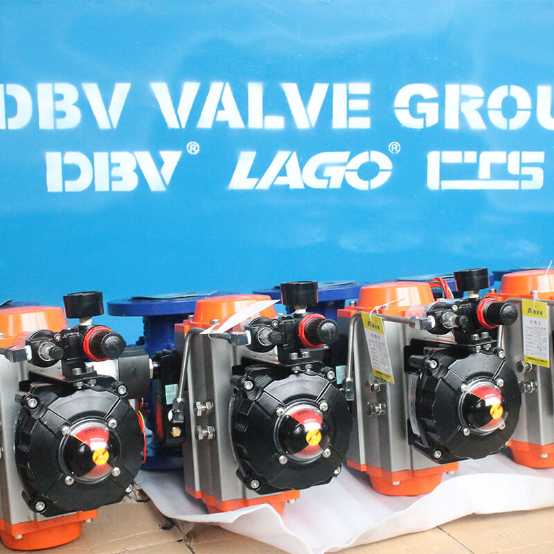 Pneumatic Floating Carbon Steel Ball Valve