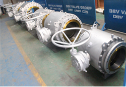 Trunnion ball valve manufacturer