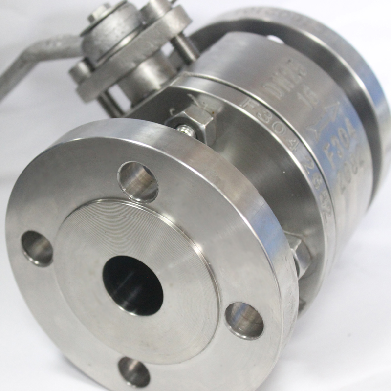 Flanged stainless steel ball valves factory
