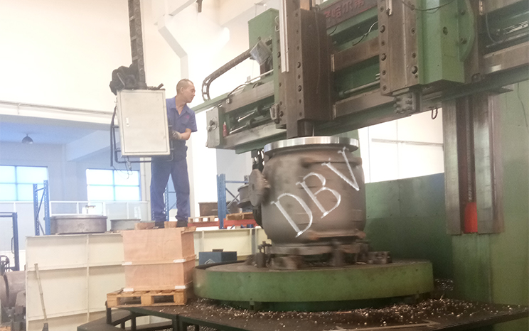 DBV large and new machine----vertical lathe