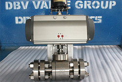 High pressure floating ball valve