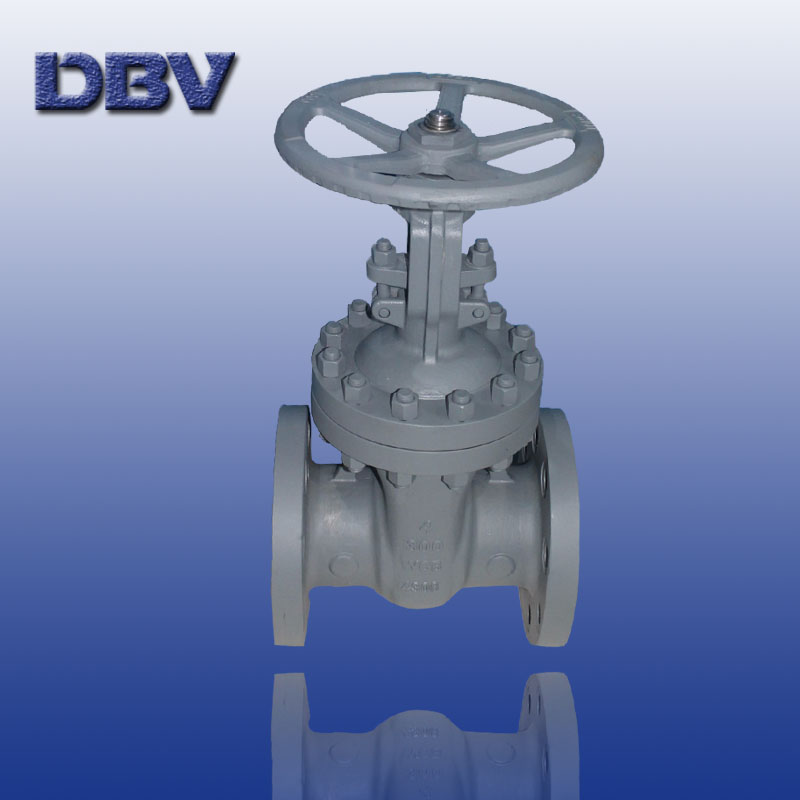 Wedged carbon steel gate valve