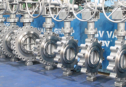 luggage triple offset butterfly valve