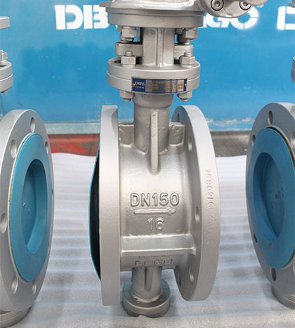 WCB FLANGE TRIPLE OFFSET BUTTERFLY VALVE