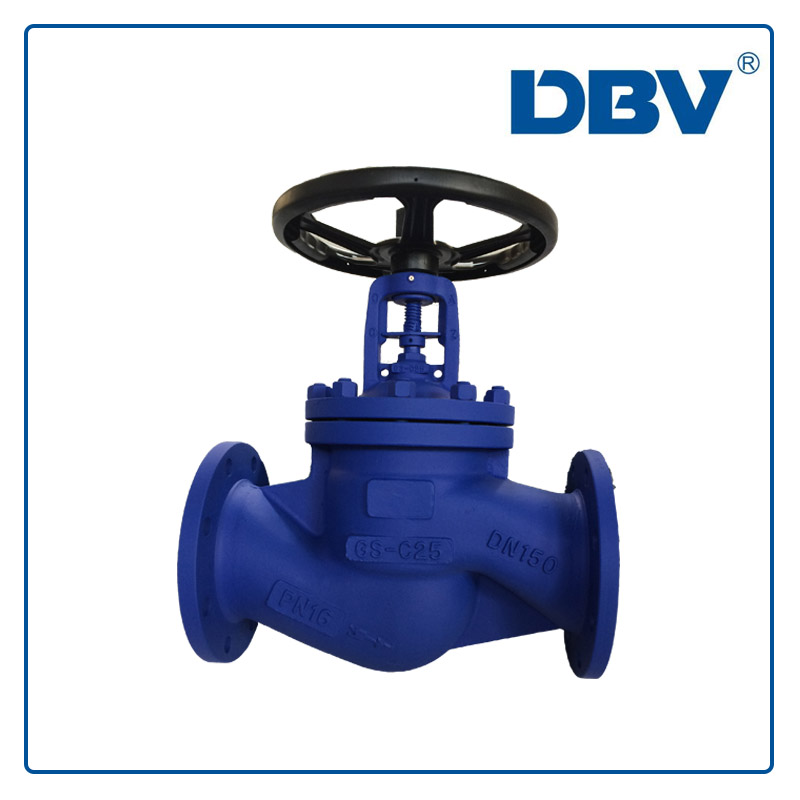 Industrial Bellows Globe Valve