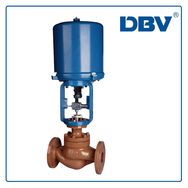 Electric Actuator Globe Control Valve