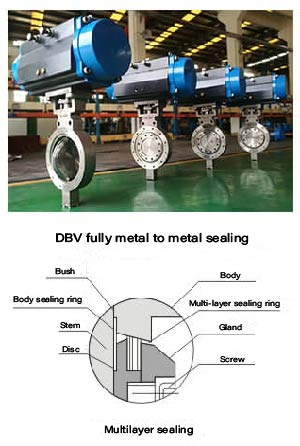triple eccentric butterfly valve supplier