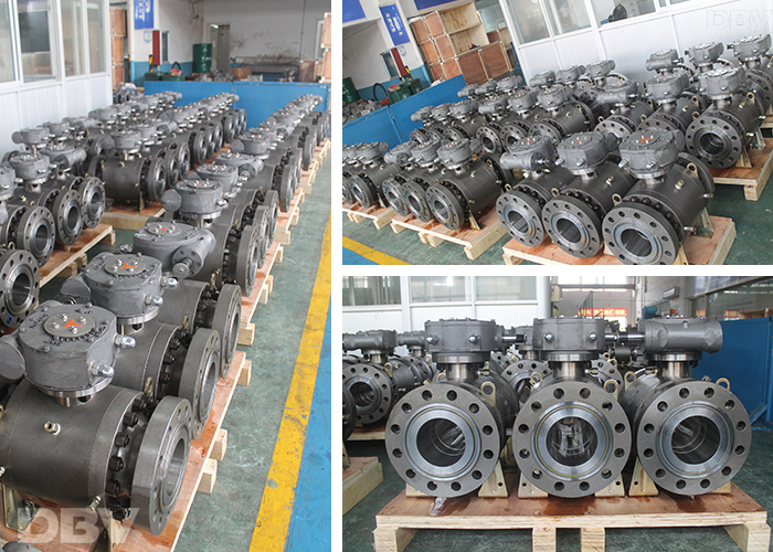 turnnion mounted ball valve supplier