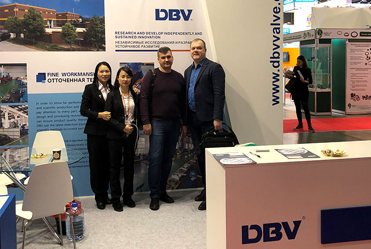 PCV Expo. nice cooperation in Moscow