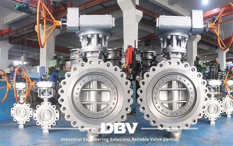 Special material butterfly valve was finished production