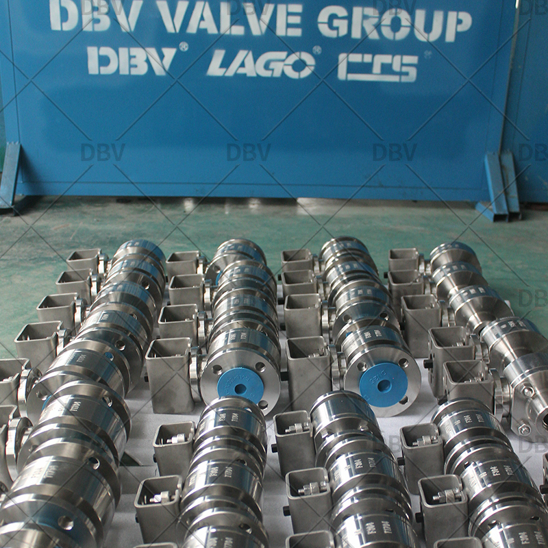 screw thread ball valve