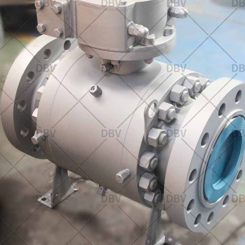 Industrial ball valve factory