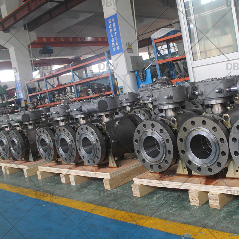 Trunnion mounted ball valve manufacturer in China