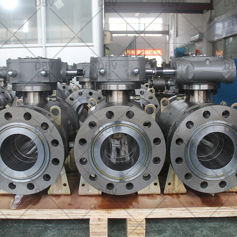 Trunnion mounted flanged ball valve manufacturer