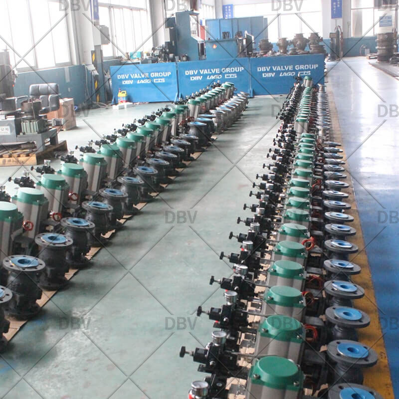 carbon steel ball valve factory