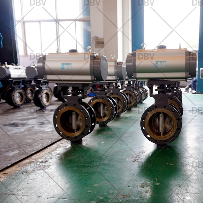 full metal seat butterfly valve
