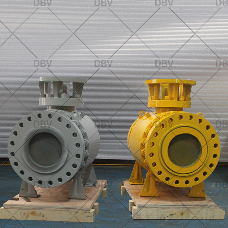 Metal to metal seat ball valve RF