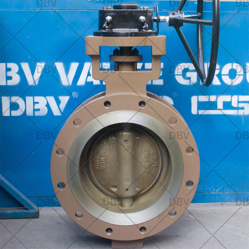 fully metal to metal butterfly valve