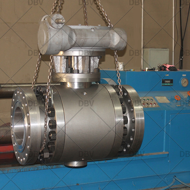 API 6D forged ball valve