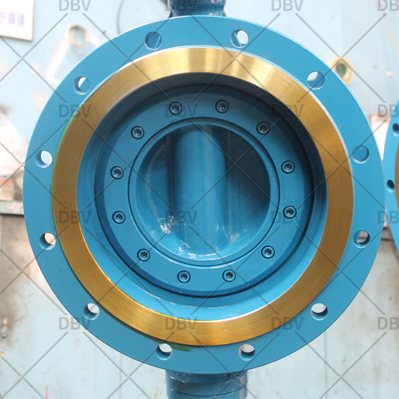 butterfly valve flange type
